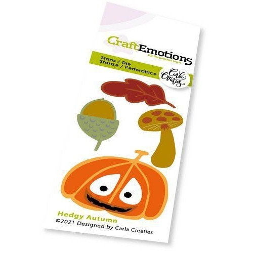 CraftEmotions Stanzschablone Hedgy Autumn