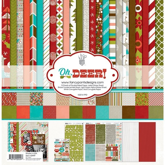 """Fancy Pants- Oh Deer - Collection Kit 12 x 12"""""""