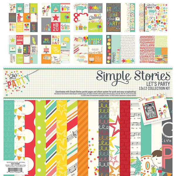 Simple Stories - Lets Party - Collection Kit