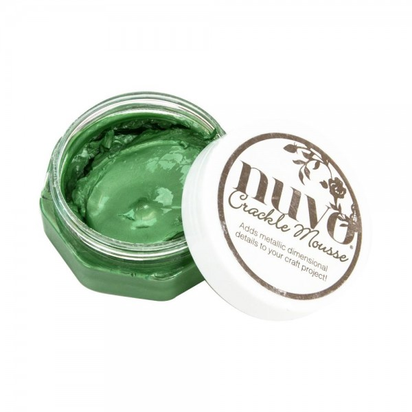 Nuvo Crackle Mousse Chameleon Green 1395N