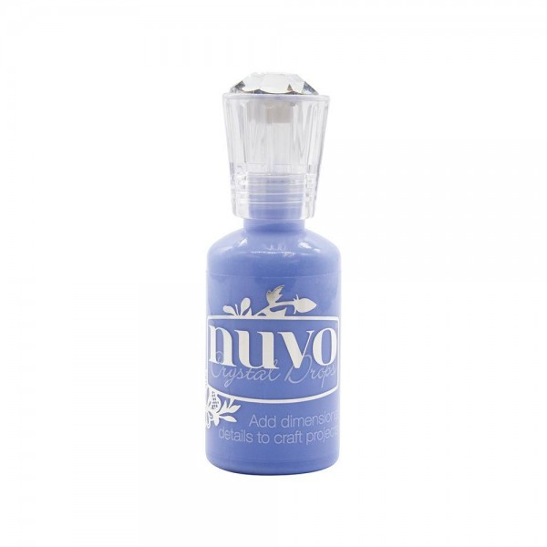 Nuvo Crystal Drops - Gloss Berry Blue 1807N