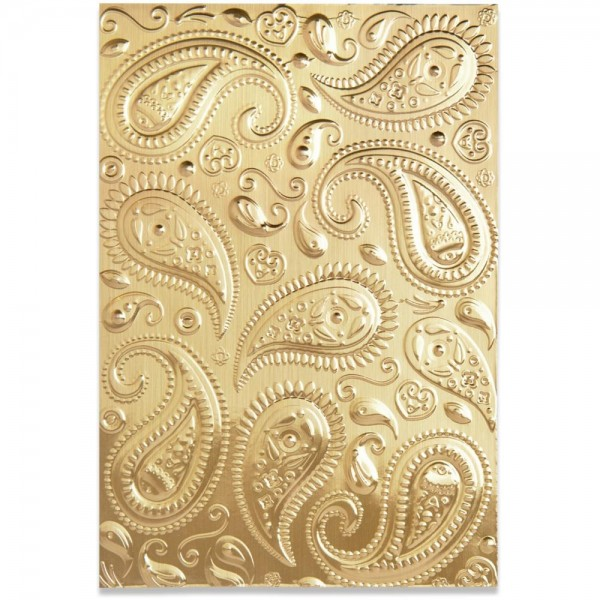 Sizzix Textured Impressions 3D Embossing Folder Paisley 664796
