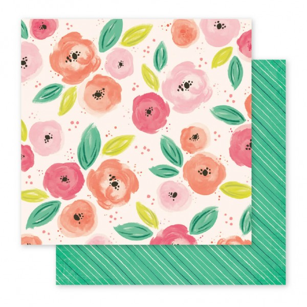 Pink Paislee - Fancy Free - Paper 07 by Paige Evans