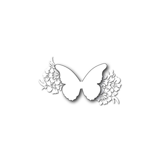 Memory Box 99211 Angel Butterfly Wings Made in USA