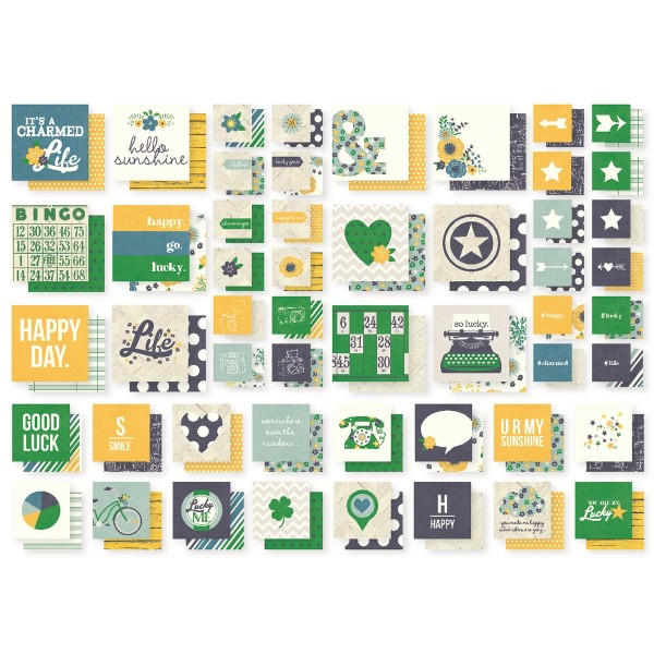 SN@P Studio Insta Squares - A Charmed Life - 52 tlg von Simple Stories