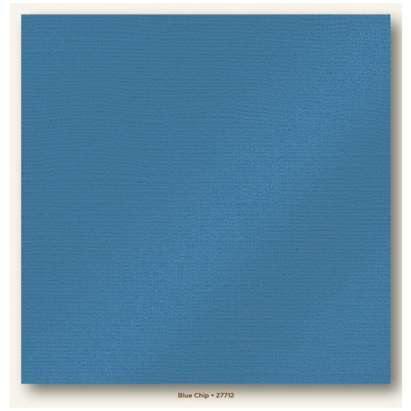 My Colors Glimmer Cardstock 216g/m² Blue Chip 30,5x30,5cm