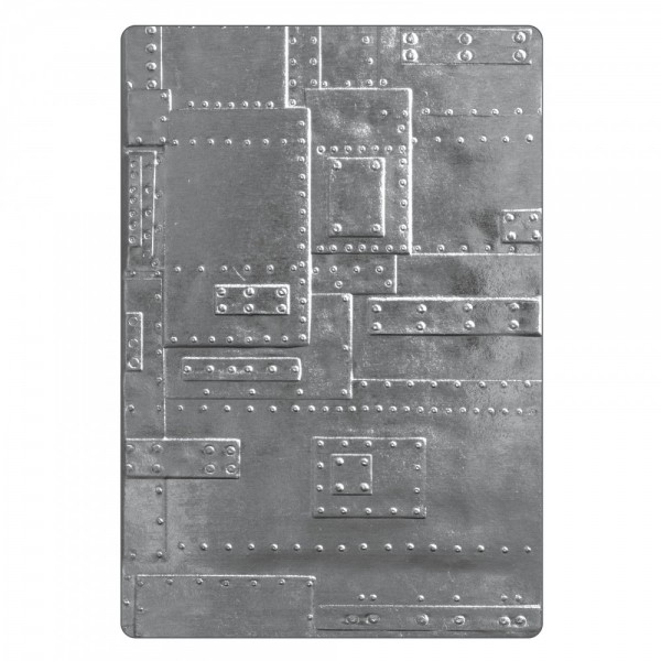 Sizzix Texture Fades 3D Embossing Folder Foundry 662717