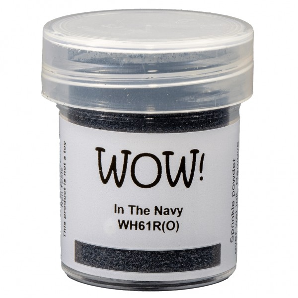 WOW! Embossing Powder In The Navy 15 ml - Embossing Pulver