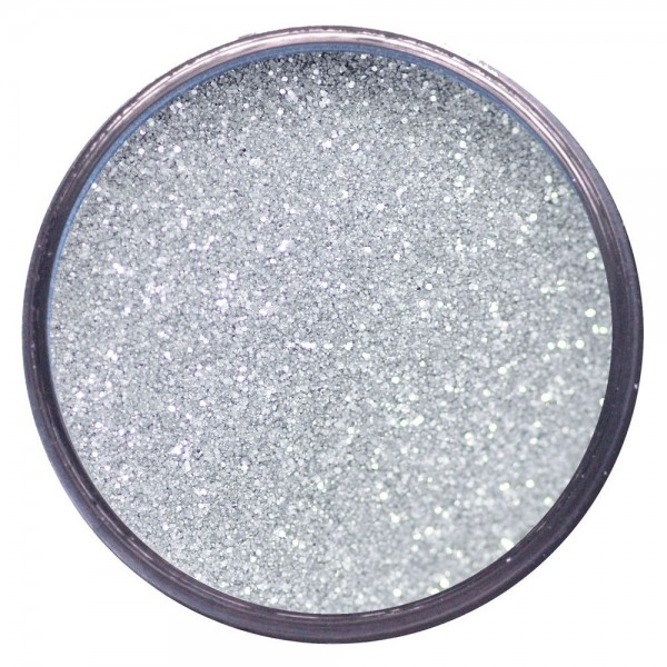 WOW! Embossing Powder Metallic Silver Sparkle 15 ml - Embossing Pulver