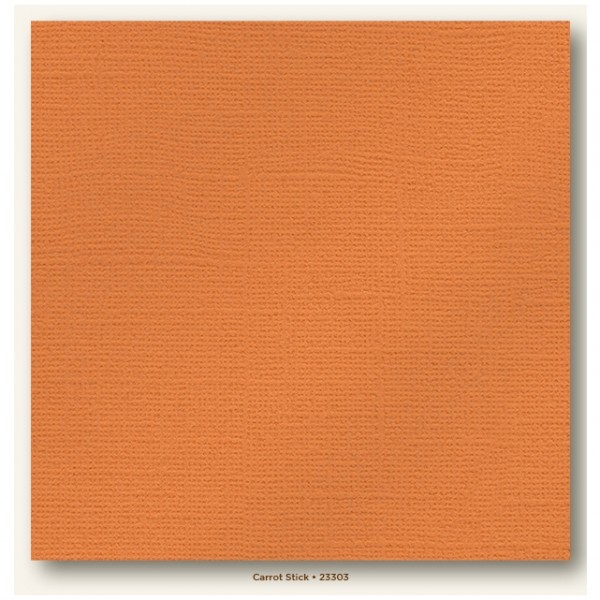 My Colors Glimmer Cardstock 216g/m² Carrot Stick 30,5x30,5cm