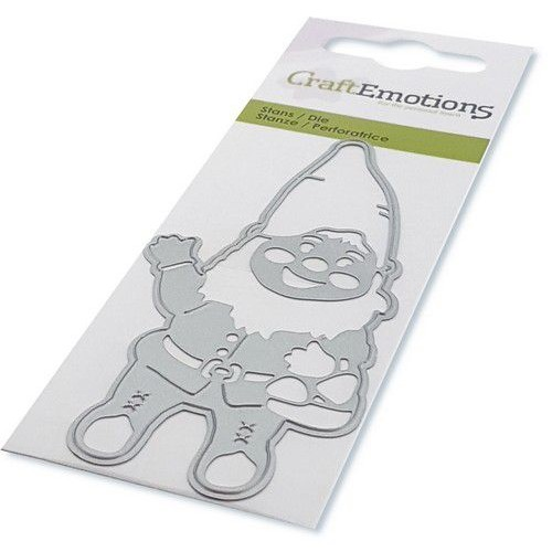 CraftEmotions Stanzschablone Gnome
