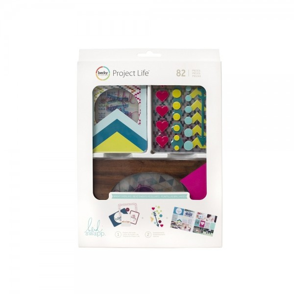 Becky Higgens Project Life Value Kit - Clear - by Heidi Swapp